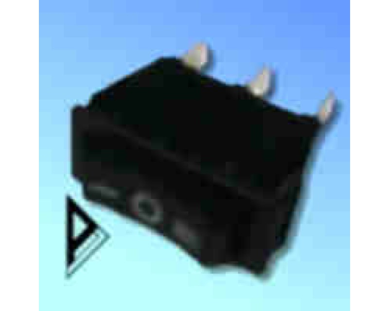 Switch- Rocker- 16A-  Black -   C1503